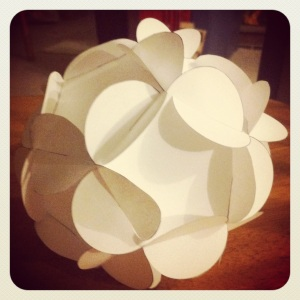 3D Paper Ball