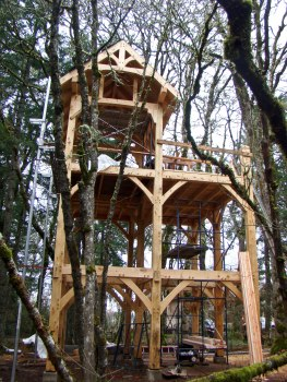 Not your childhood treehouse, eh?