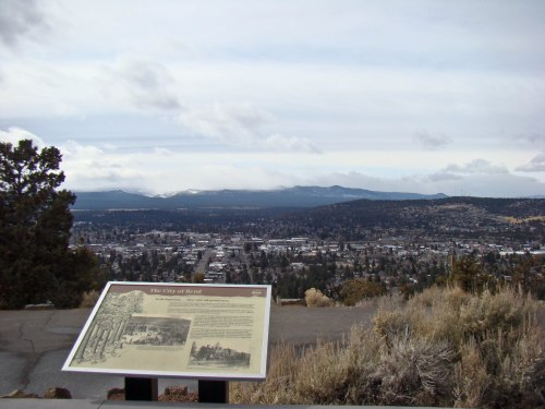 You can just about see my house from here...and what you can't see are the very big mountains hidden in the storminess...