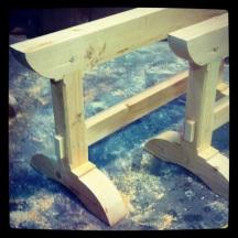 Sawhorses I built