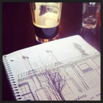 Sketchy happy hour